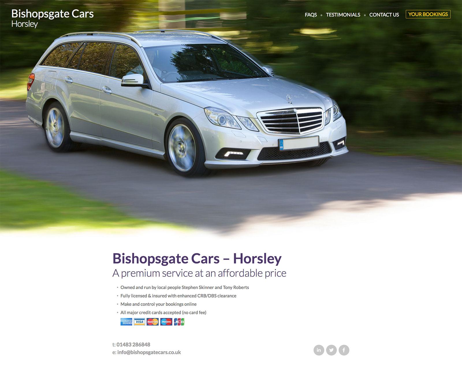 Bishopsgate Cars